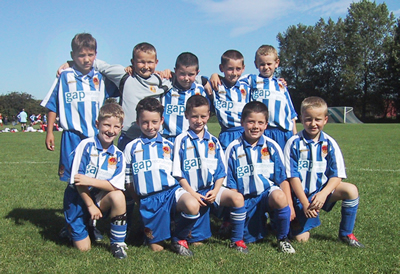 Chester City Under 9 side